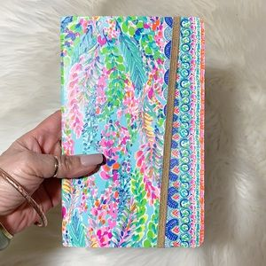 Lilly Pulitzer colorful leaves journal